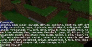 Minecraft Single Player Commands 1.4.2